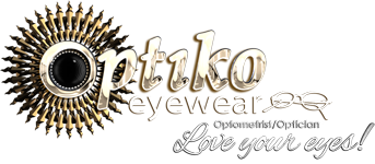 OPTIKO EYEWEAR ~ OPTOMETRY Logo